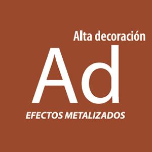 Alta Decoración Efectos Metalizados